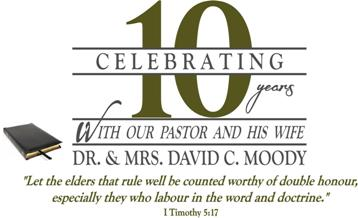 ... TABERNACLE - Covington, Georgia - Celebrating 10 Years With Our Pastor