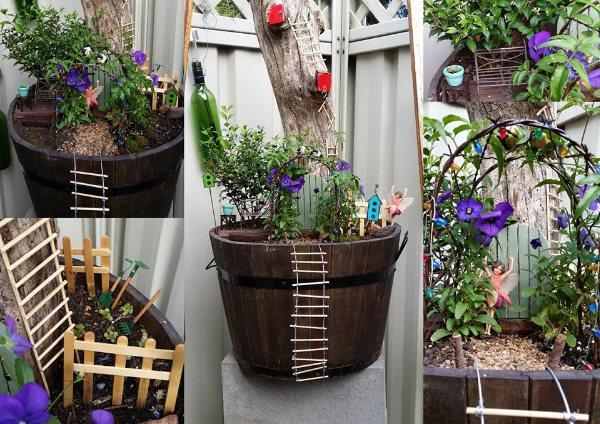 Garden doors designs for a magical garden design fresh for Outdoor fairy doors australia