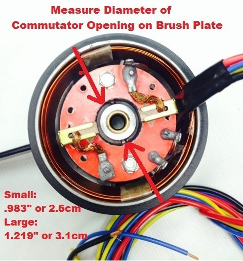 Motor Guide Comm Cap Assembly Large