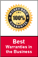 Best warranties in the business
