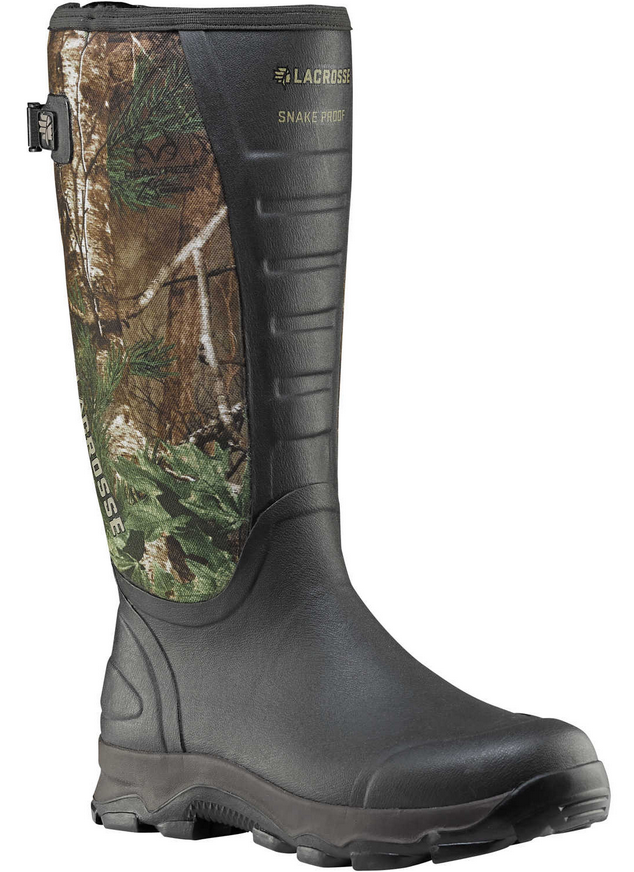 Lacrosse 4x Alpha Realtree Xtra Green Snake Boots Snake