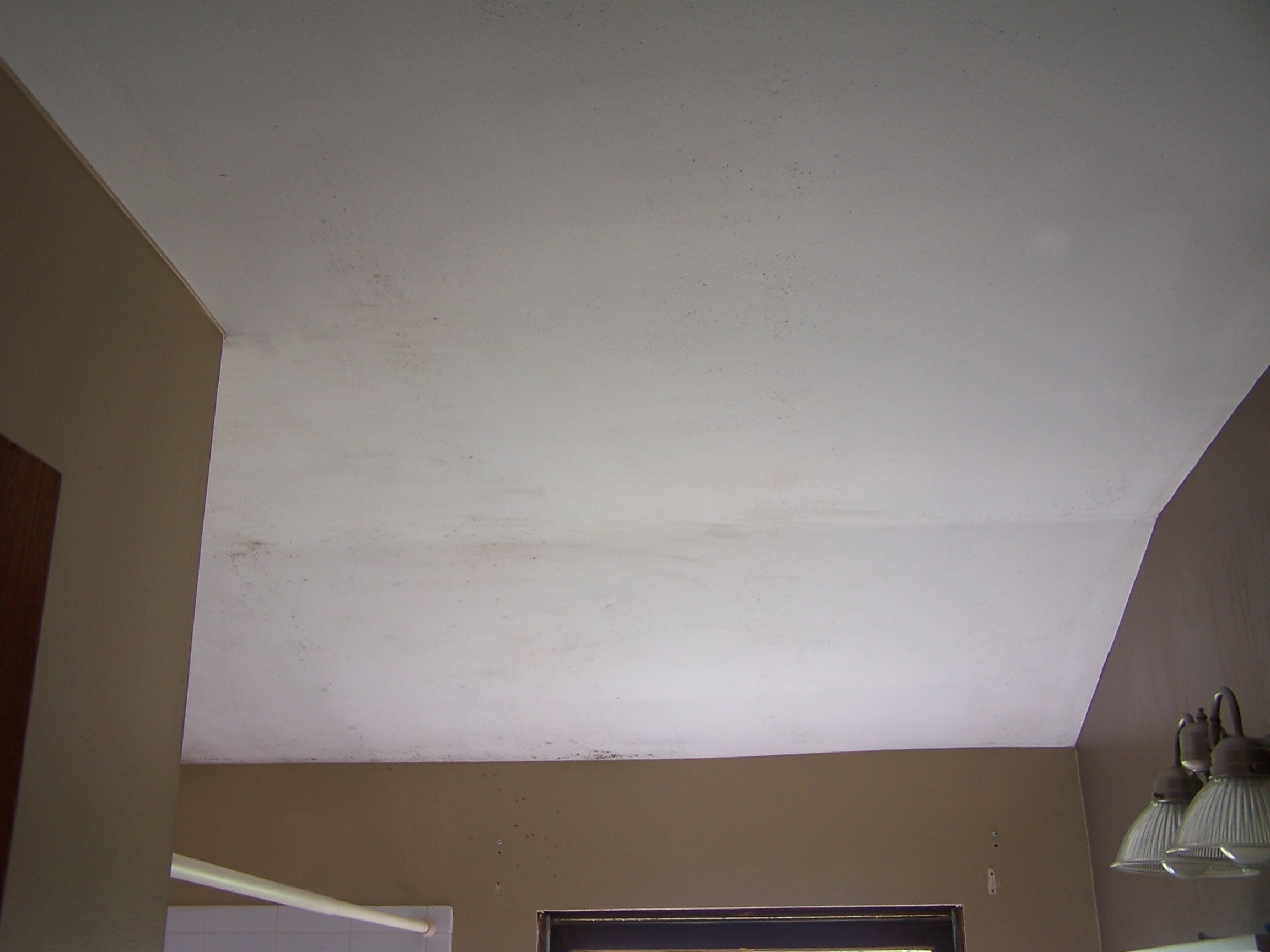 Dangers of mold in bathroom - So Since June Of 2010 I Had Been Cleaning The Ceiling On My Own Not Knowing The Dangers Or Toxicity Of It And He Did Not Take Action To Get A Mold