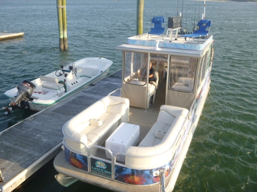 941 505 8687 Gulf Island Tours Offers Boat Tours Yacht Charters  Pontoon Boat  With Bathroom. Pontoon Boats With Bathrooms