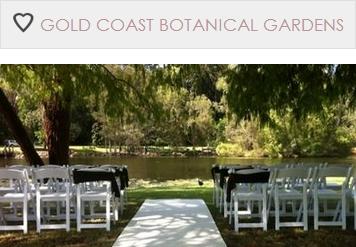 Garden And Park Wedding Ceremonies